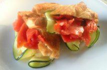Ricetta Sandwich al Salmone