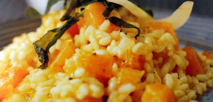 Risotto alla Zucca con Salvia e Peperoncino!