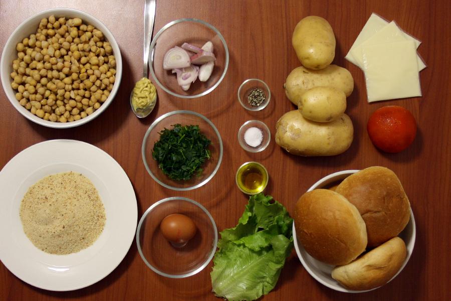 hamburger vegetariano ingredienti