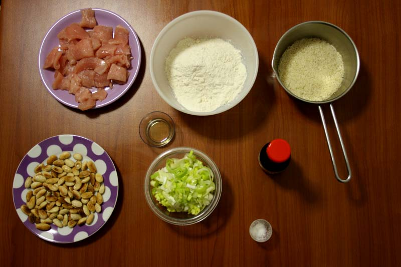ingredienti tacchino alle mandorle