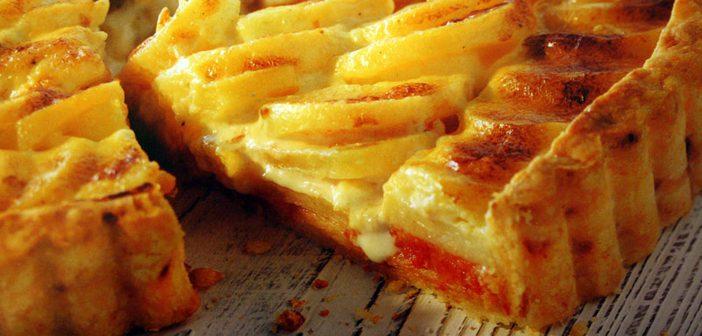 Ricetta Torta Piccante con Patate