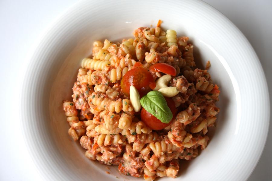 pasta pesto rosso ricetta