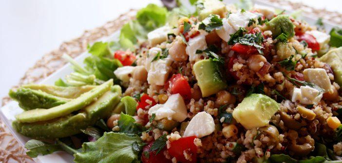 Ricetta insalata di quinoa