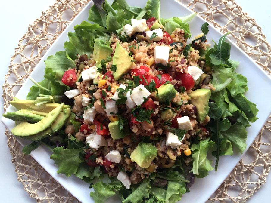 Ricetta insalata di quinoa confoodential