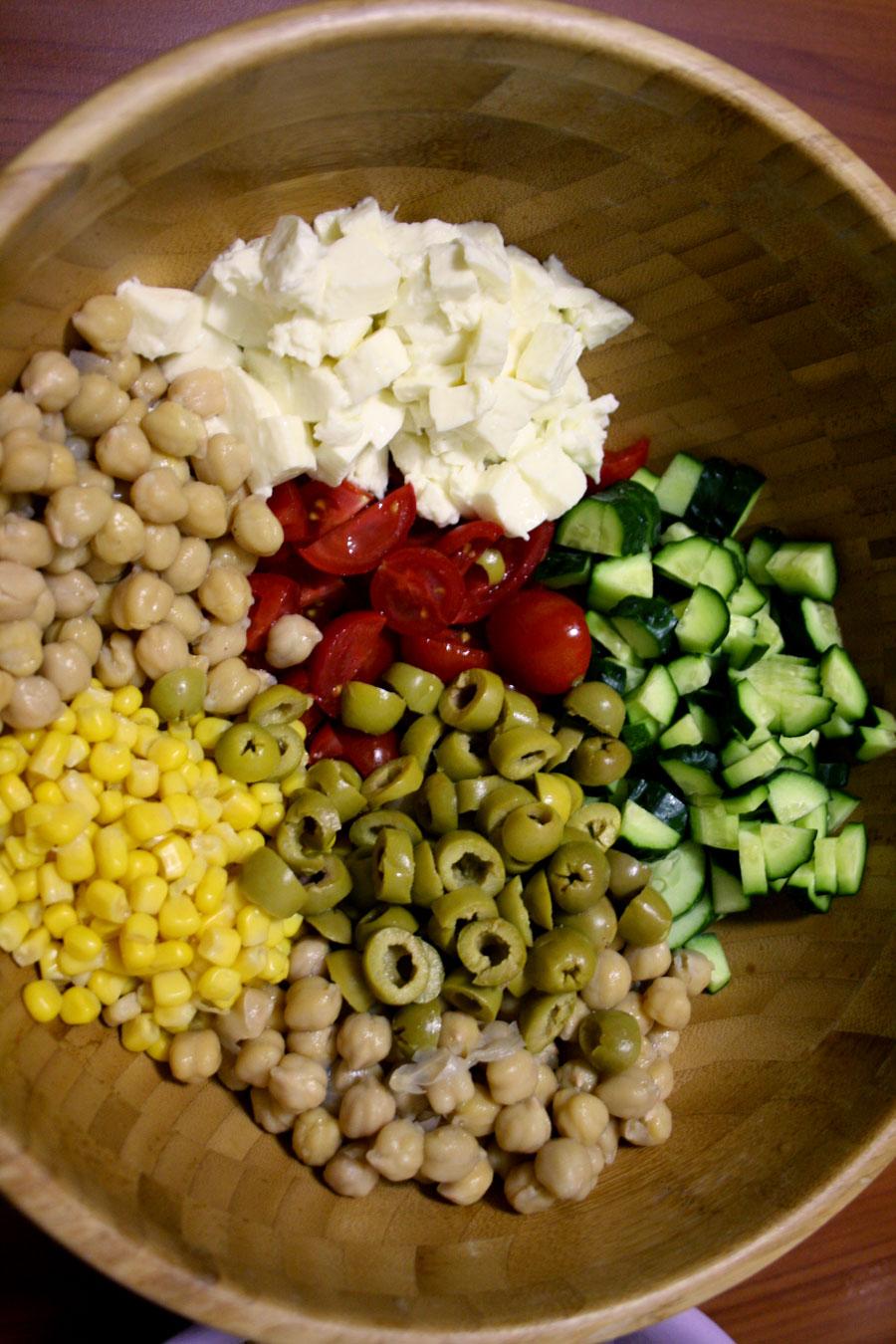 Ricetta insalata di quinoa ingredienti