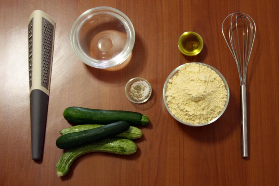 Ingredienti ricetta torta salata con farina di ceci