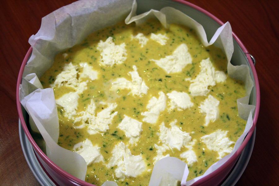 Ricetta torta salata con farina di ceci