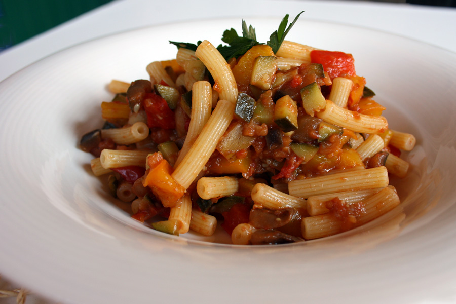 Ricetta pasta con verdure