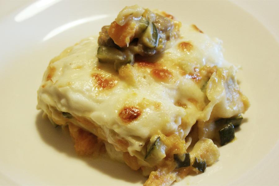 Ricetta lasagne vegetariane bianche