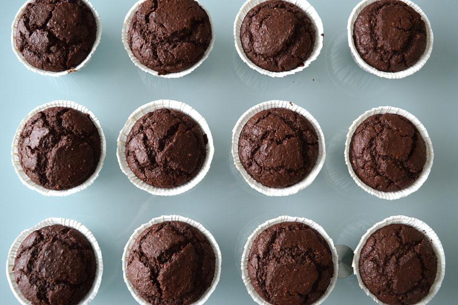 Cupcake di san Patrizio con cioccolato e Guinness