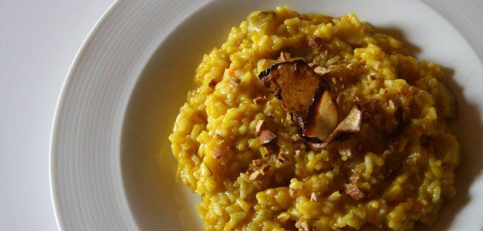 Ricetta riso topinambur