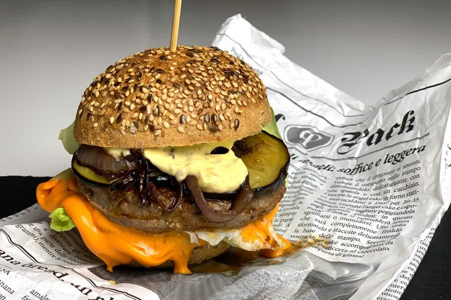 Hamburger gourmet di scottona