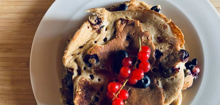 pancake light senza burro e farina integrale