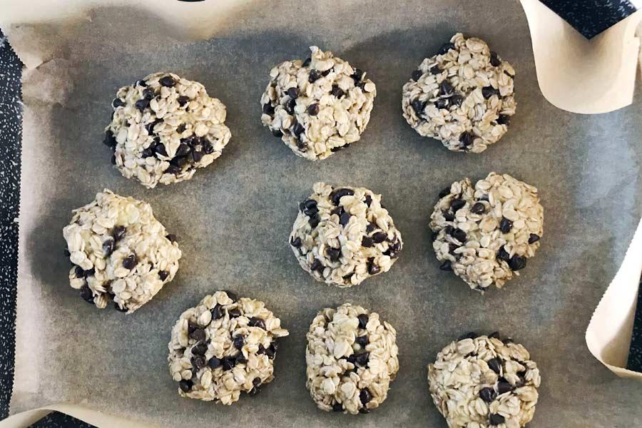 Biscotti con solo 3 ingredienti e senza burro
