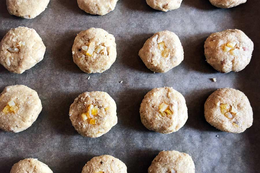 Biscotti senza glutine al limone