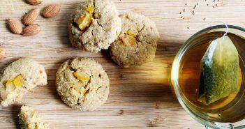 Biscotti senza glutine al limone e cocco