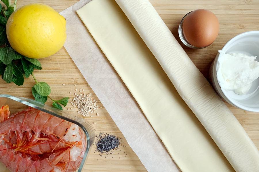 Gamberi in crosta, aperitivo sfizioso in 20 minuti!