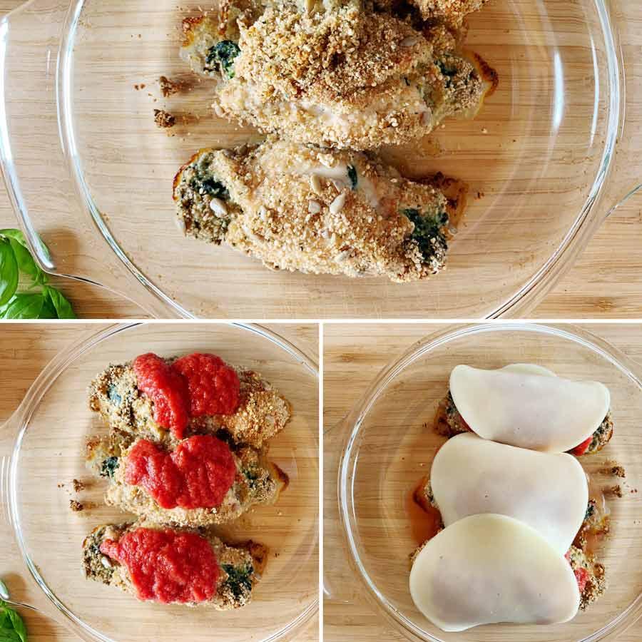 Stanco della solita bistecchina? Gustati questi incredibili involtini di pollo panati e cotti in forno, preparali subito!