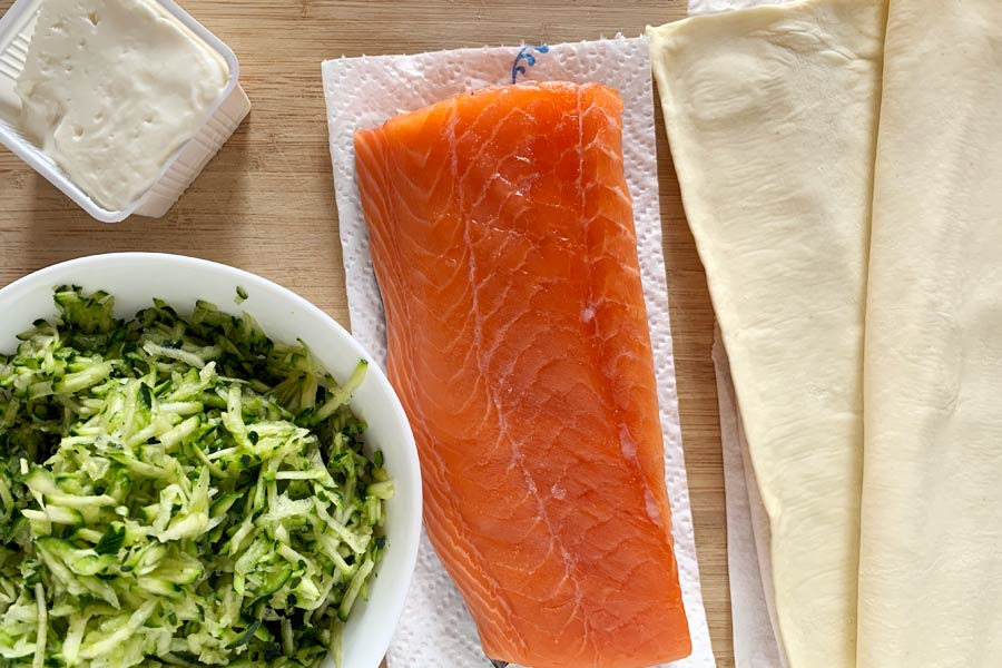 Salmone in crosta ingredienti