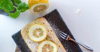 Lemon poppy plumcake al limone