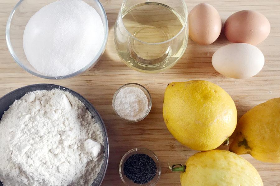 plumcake al limone senza burro