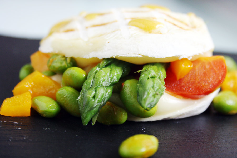 Tomino grigliato con verdure