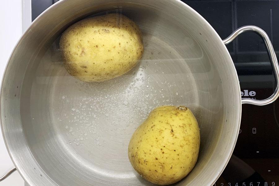 Purè di patate senza grumi