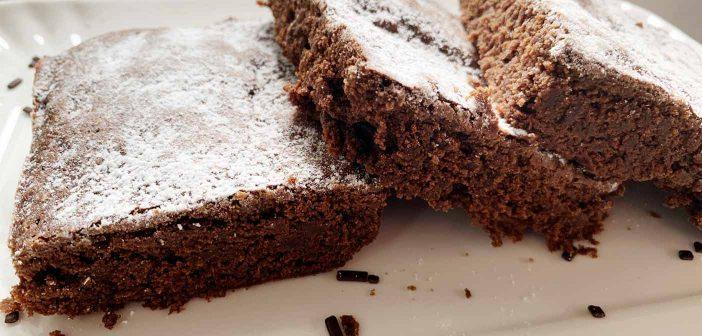 Torta al cioccolato con soli 5 ingredienti!
