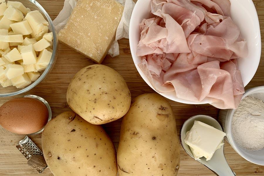 Rotolo di patate farcito